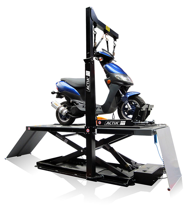 Hydraulic/Pneumatic Motorcycle Lift : 776