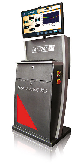 Inspection Test Lanes - Inspection lines for Light vehicule : BilanMatic XG Console made in France by ACTIA® Automotive.